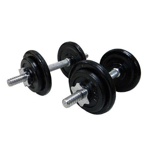Pesas juego mancuernas barras sportfitness +30 lbs en discos
