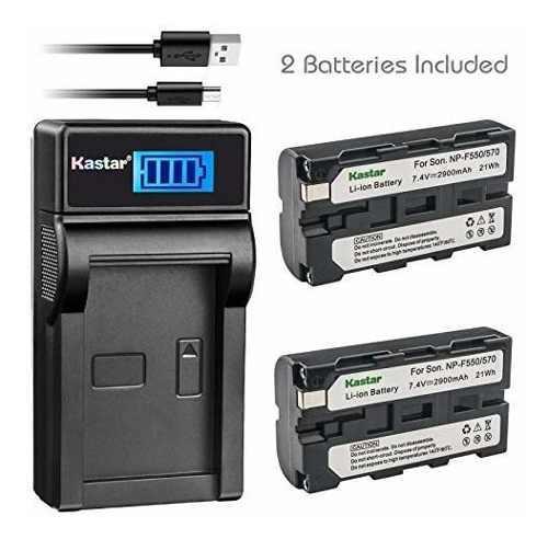 Kastar cargador usb bateria para npf570 1 npf570 f570