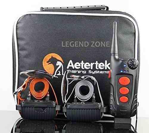 Aetertek at-918c 2- perro eléctrico remoto perro