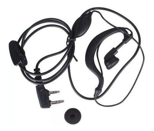 Audifono audicular manos libres para radio baofeng kenwood