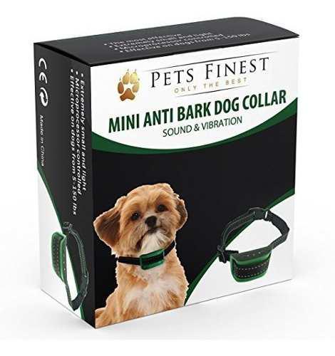 Collar anti perro corte por pets finest sonido y vibracion
