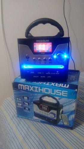 Parlante portatil mini recargable con radio-usb-tarjeta sd