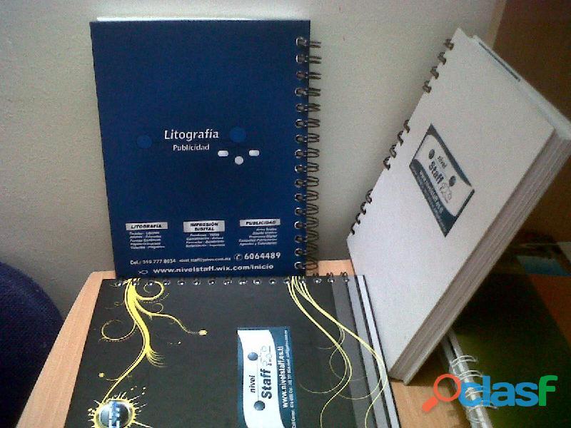 Impresion de Cuadernos Personalizados Tel 4744958 Bogotá