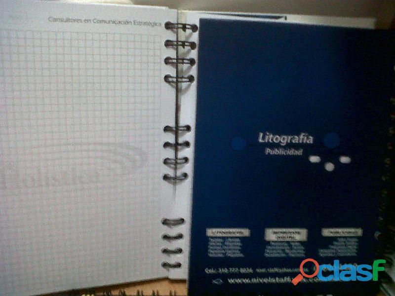 Impresion de Cuadernos Personalizados Tel 4744958 Bogotá 4
