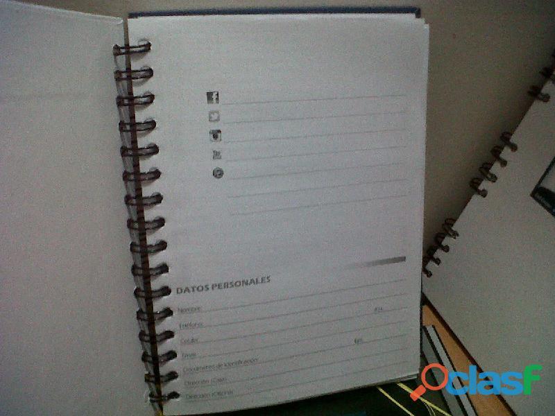 Impresion de Cuadernos Personalizados Tel 4744958 Bogotá 5