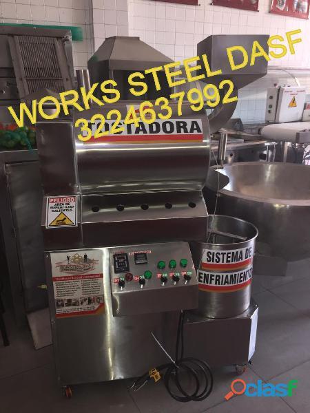 Tostadora de cacao en works steel dasf