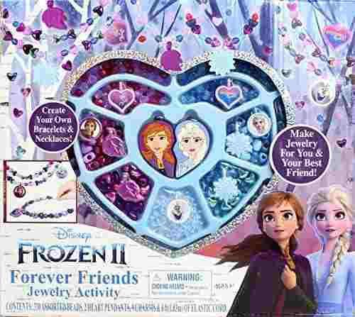Joyeria de frozen 2 kit para hacer pulseras accesorios niña