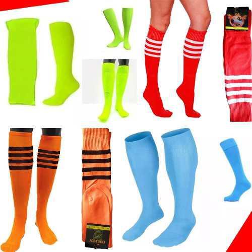Medias deportivas colores unisex fútbol calcetines calidad