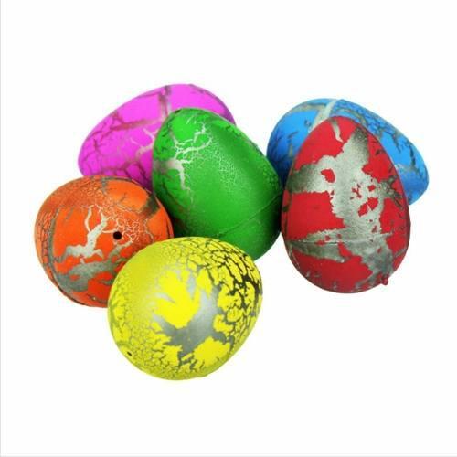 12 huevos dinosaurio nacen y crecen con agua juguete 6cm mnr