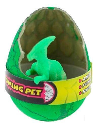 Huevo de dinosaurio nacen y crecen con agua juguete 6cm mnr