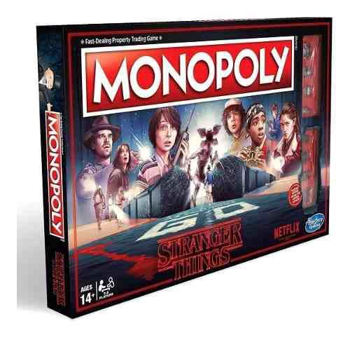 Monopoly stranger things en español original hasbro envio