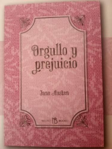 Orgullo y prejuicio libro original jane austen ilustrado