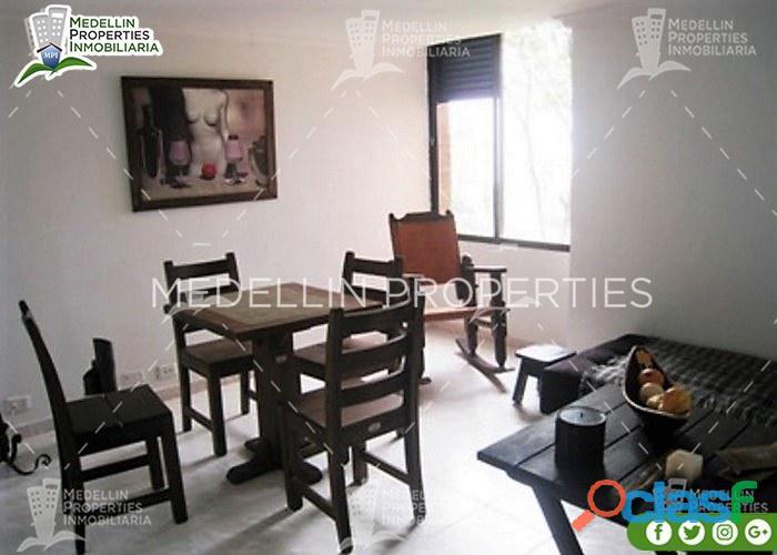 Apartamentos amoblados en medellin colombia cód: 4504
