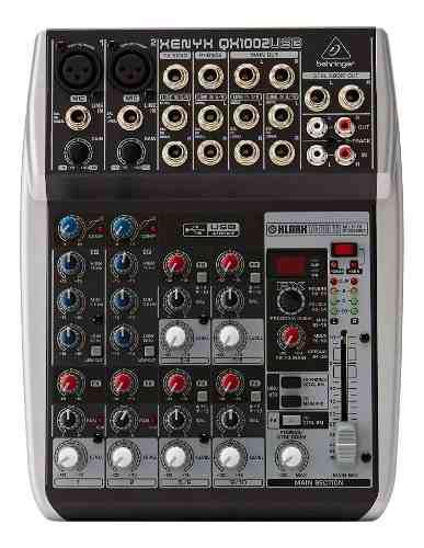 Mixer Behringer Qx1002usb Consola Pasiva Mezclador Usb Xenyx