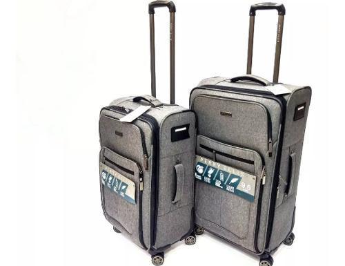 Set de maletas de viaje perry ellis x2 (grande y pequeña)