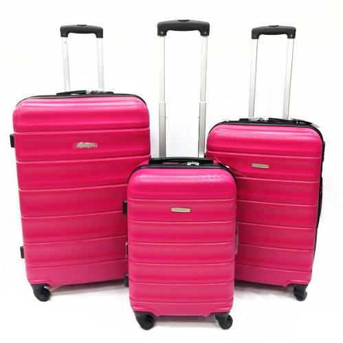 Set maleta de viaje x2 (grande + mediana) abs