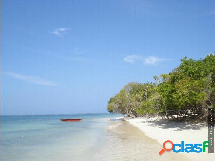 Lote en venta isla de baru cartagena colombia