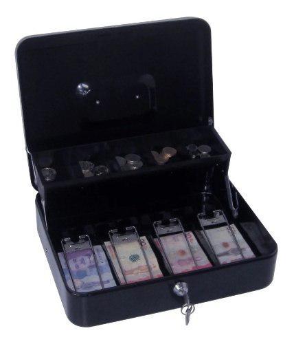 Caja Menor De Seguridad Billetes Monedas 30x24x9cm - 2llaves