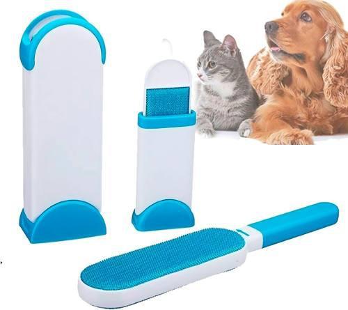Kit Removedor Quita Pelo Pelusa Motas Mascotas Reusable Mnr