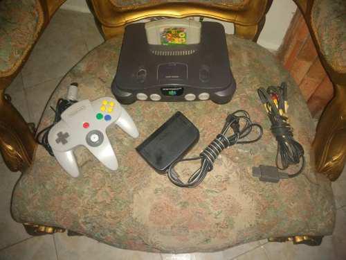 Nintendo 64 Con Mario