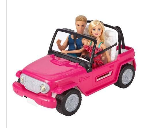 Barbie auto jeep de playa original y nuevo de mattel oferta