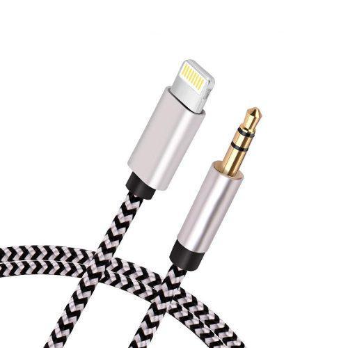 Cable auxiliar compatible con el teléfono cable de audio e