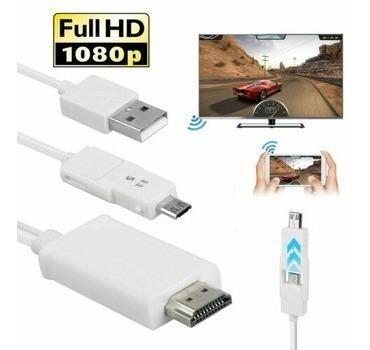 Cable hdtv mhl adaptador tv para celulares