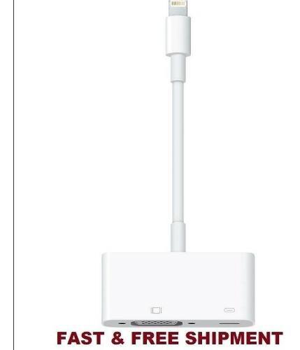 Cable lightning adaptador av tv ipad air iphone 5s 6s 7 8 x