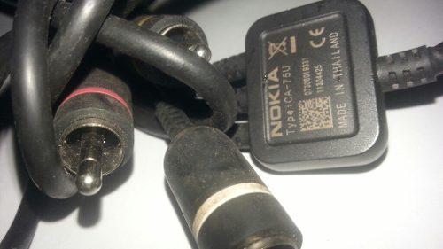 Cable rca audio video nokia n95 original