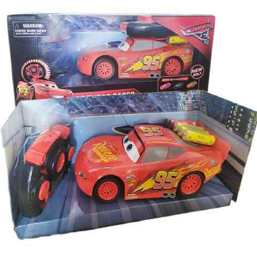 Carro rayo mcqueen cars control remoto juguete bonito disney