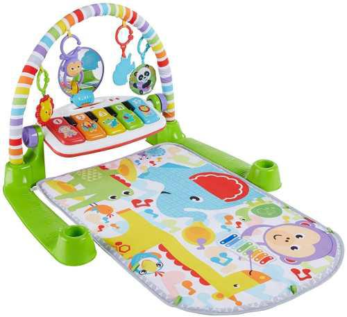 Fisher-price deluxe piano neutral gym musical bebe