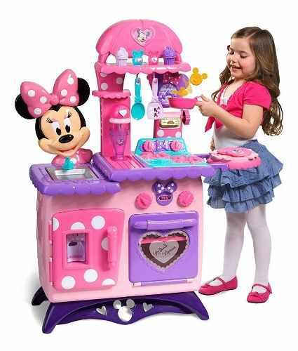Just play minnie mouse flippin cocina juguete niña