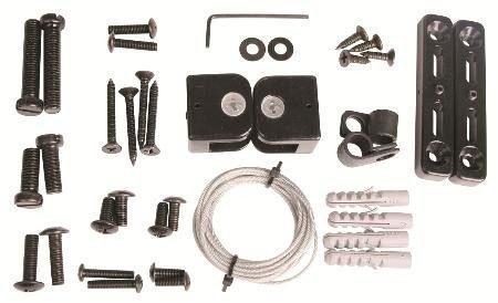 Kit De Cable De Seguridad Para Televisión Universal