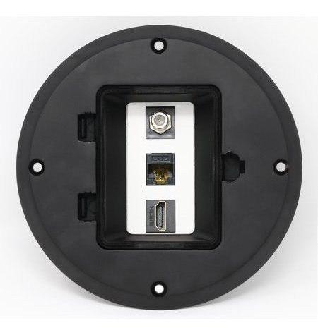 Riteav Hdmi Ethernet Cat6 Cable Coaxial De Tv Cajas De Suel