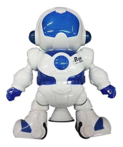 Robot bailarín juguete para niño luces musica canto y