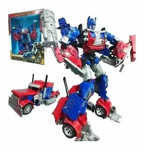 Transformers bumblebee o optimus gigante juguetería