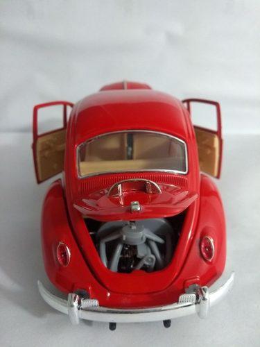 Volkswagen escarabajo 1:18 grande colección vehícul sin