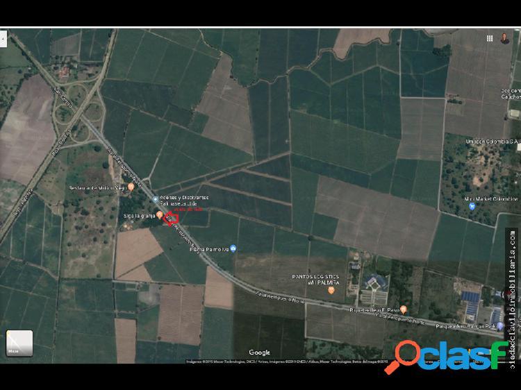 Palmaseca - cali lote 17.100 mt2