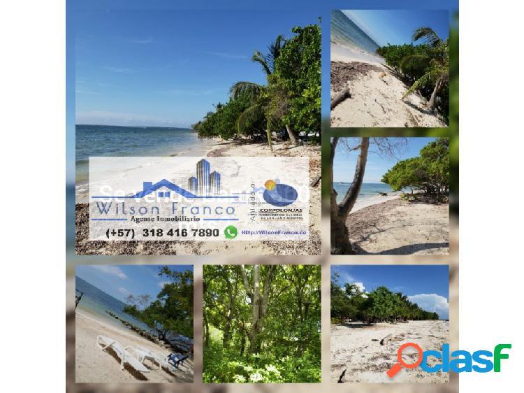 Casa de playa en venta, isla barú, cartagena