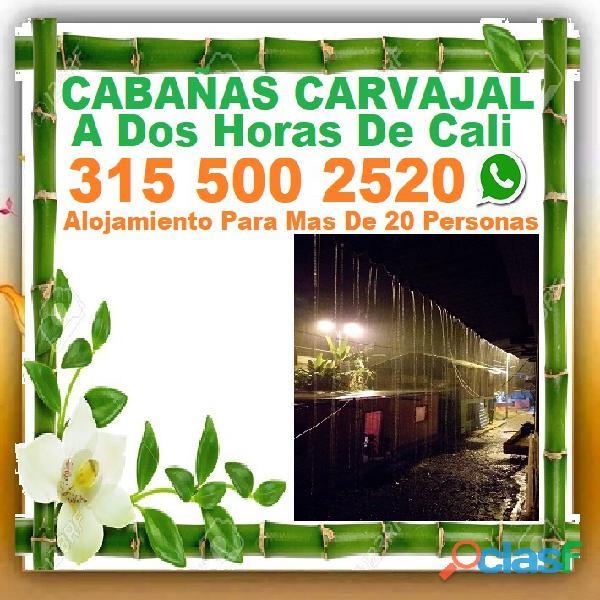 ⭐ Hotel, Cabañas Carvajal, Alojamiento En San Cipriano, Buenaventura, Reserva Natural. Vía Buenavent