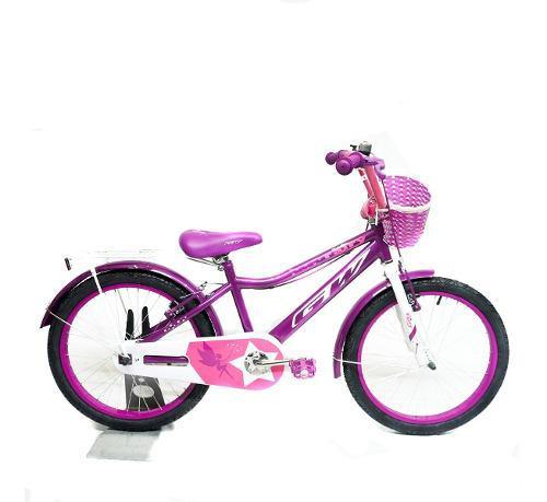 Bicicletas gw fairy rin 20 para niña alum infantil celeste