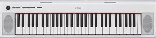 El adaptador de corriente blanco de teclado portatil ligero