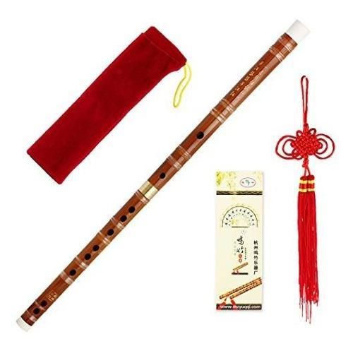 Flauta Dizi De Bambu Instrumento Tradicional Chino Hecho A M