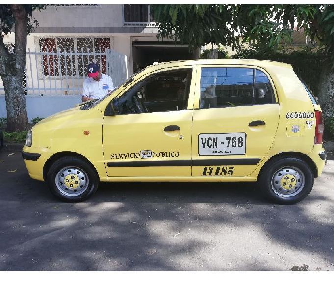 Se vende taxi hyundai atos prime gl modelo 2008