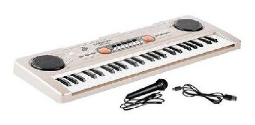 Teclado organeta piano electrónico 49 teclas 530 b2