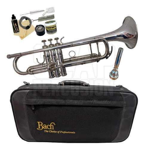 Trompeta Vincent Bach Tr400s Semi Pro + Kit Mantenimiento