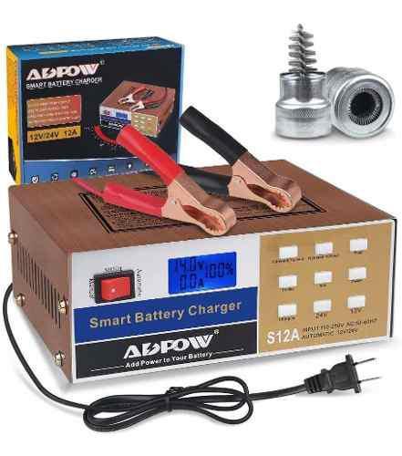 Cargador de batería automotriz v v a mantenimiento aut...