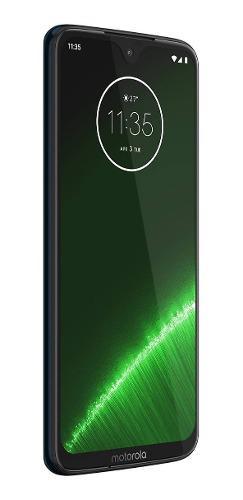 Celular Moto G7 Plus Azul, 64gb, 4 Ram, 16+5mp, Dual Sim