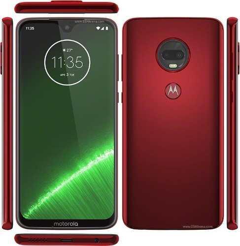 Celular Motorola G7 Plus 4+64gb Doble Sim Rojo+vidrio+seguro