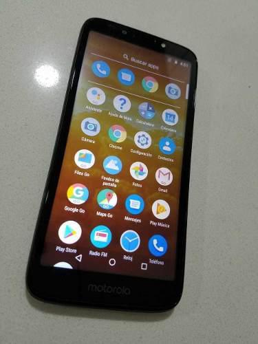 Motorola Moto E5 Play Duos, Lector De Huellas, Flash Frontal